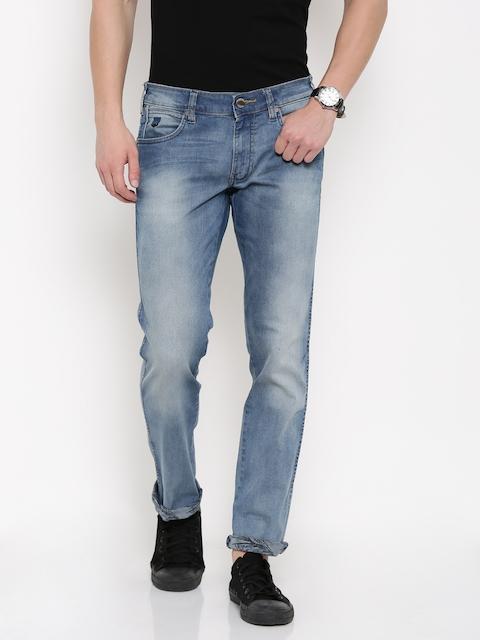 Wrangler Men Blue Rockville Fit Stretchable Jeans