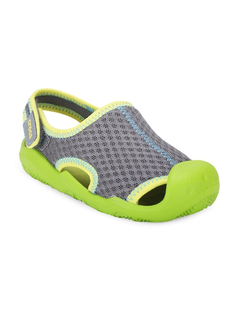 Crocs Boys Grey Sandals