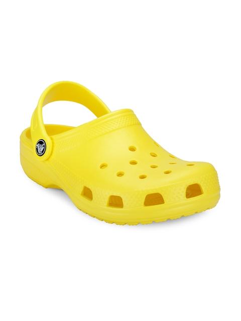 Crocs Boys Yellow Clogs