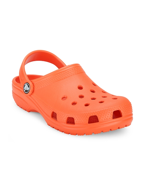 Crocs Boys Orange Clogs