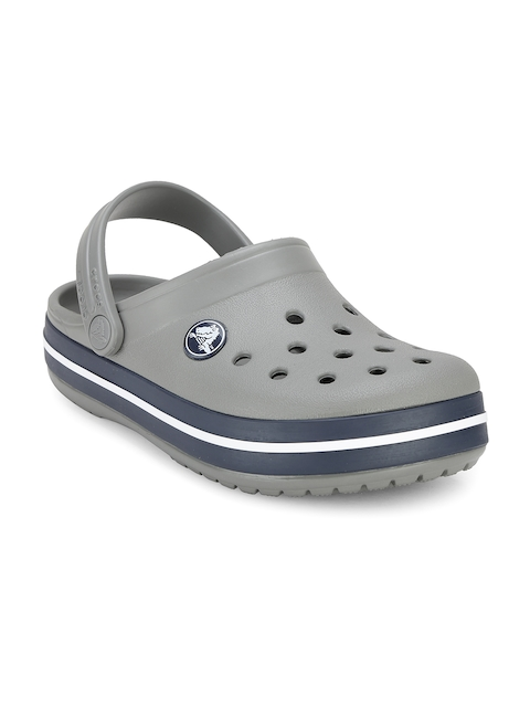 Crocs Boys Grey Clogs