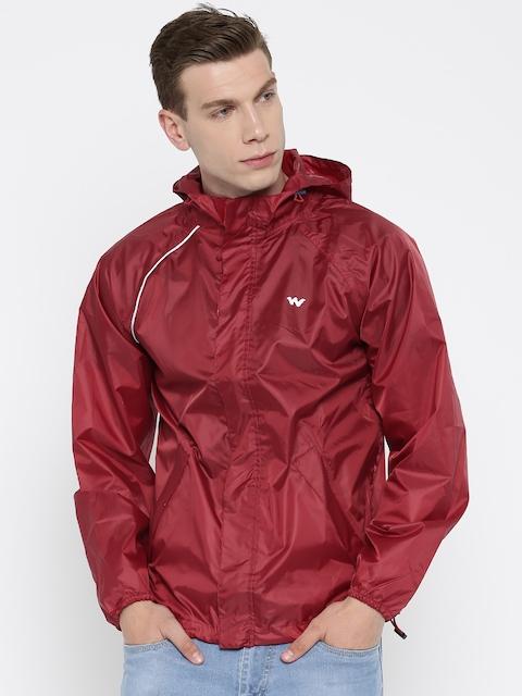 Wildcraft Maroon Rain Jacket