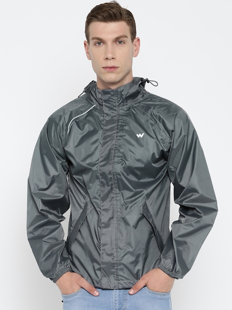 Wildcraft Grey Rain Jacket