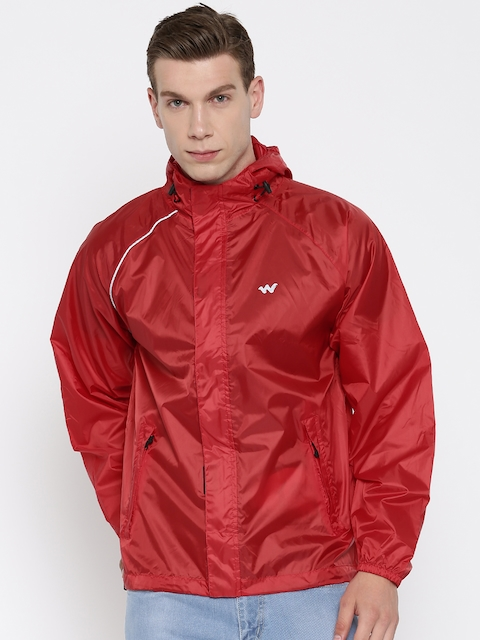 Wildcraft Red Rain Jacket