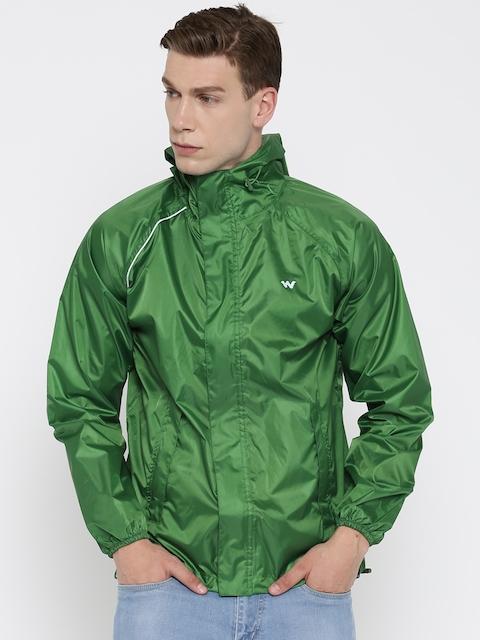 Wildcraft Green Rain Jacket