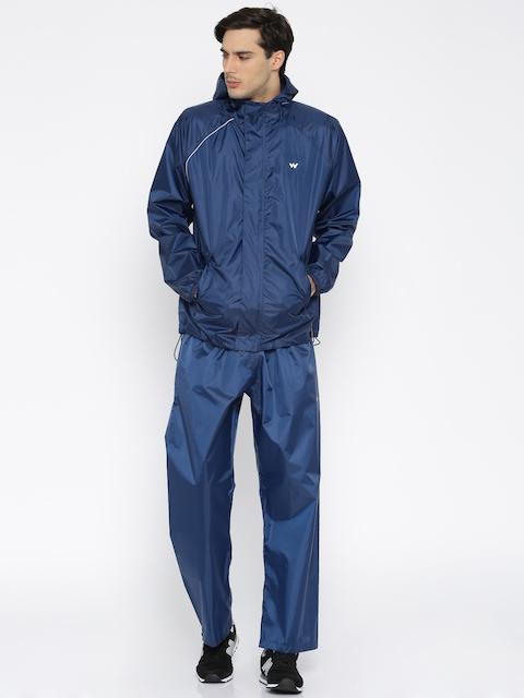 Wildcraft Navy Rain Jacket & Trousers
