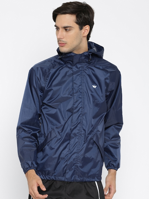 Wildcraft Navy Waterproof Rain Jacket