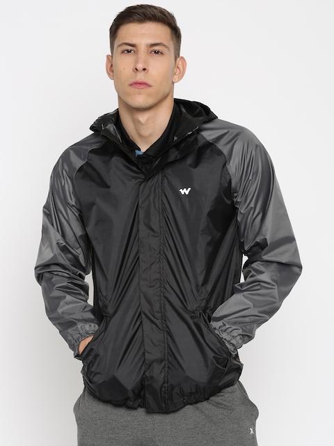 Wildcraft Men Black Rain Jacket