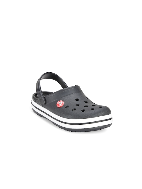 Crocs Girls Black Clogs