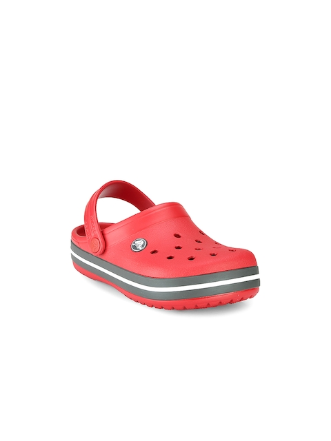 Crocs Girls Red Clogs