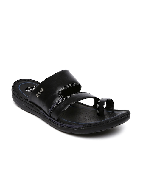 Dr. Scholl Men Black Sandals  available at myntra for Rs.899
