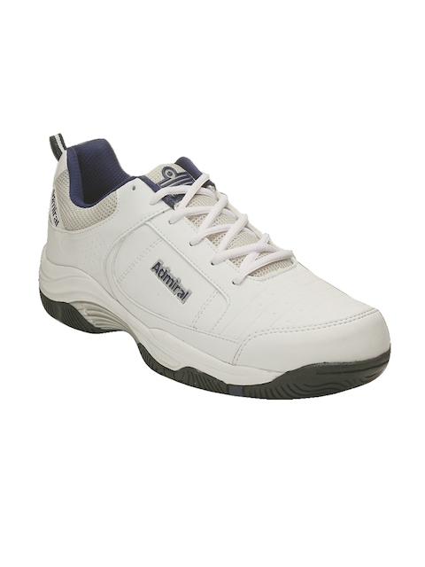 Admiral Men White Court Tennis Shoes
