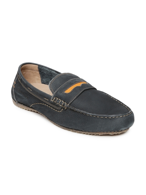 Hush Puppies Men Blue Loafers