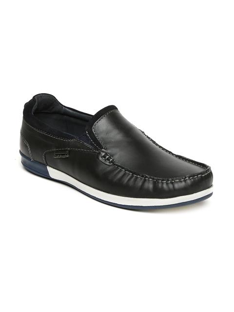 Hush Puppies Men Black Loafers