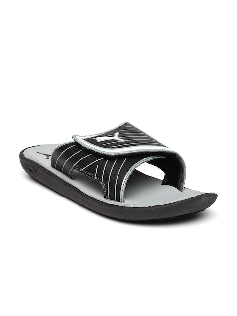 Puma Men Black & Grey Printed Bow Cat Flip-Flops