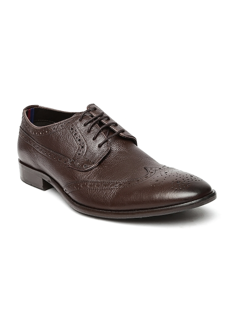Bata Men Brown Brogues