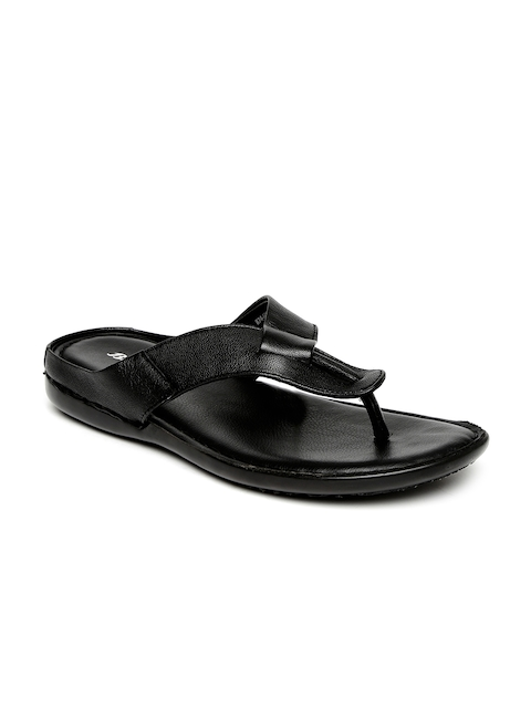 Bata Men Black Sandals