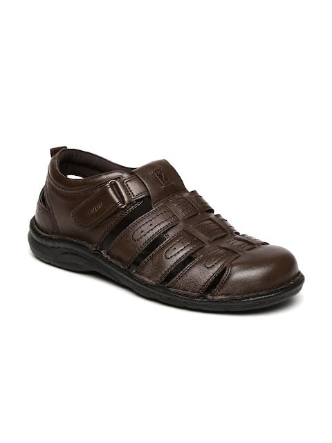 Bata Comfit Men Brown Fisherman Sandals