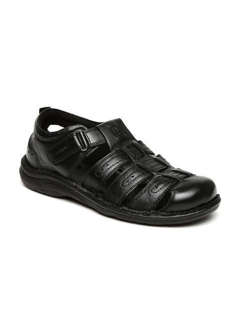 Bata Comfit Men Black Fisherman Sandals