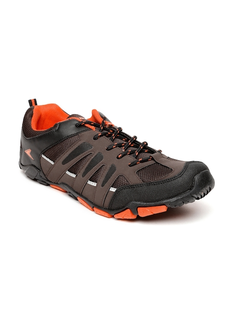 Power Men Brown & Black Lionel Running Shoes