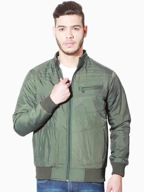People Men Grey Solid Open Front Jacket