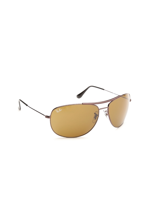 Ray-Ban Unisex Oval Sunglasses 0RB3412I01463