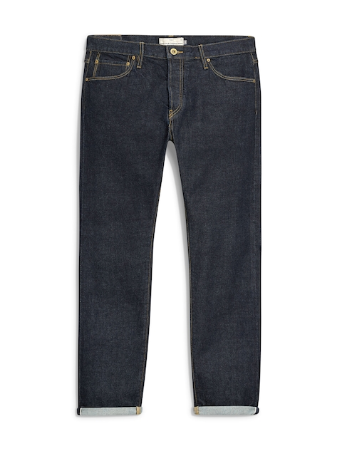 Next Men Navy Blue Jeans