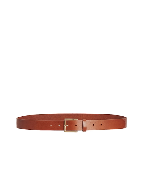 Next Women Tan Brown Leather Belt