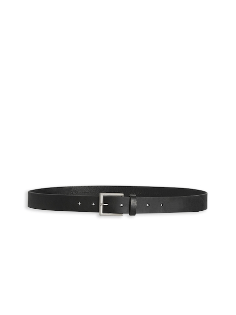 Next Women Black Leather Belt