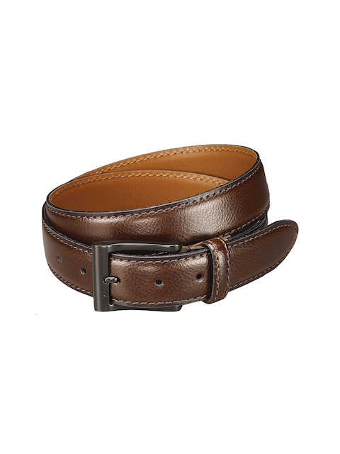 Next Men Brown Leather Belt