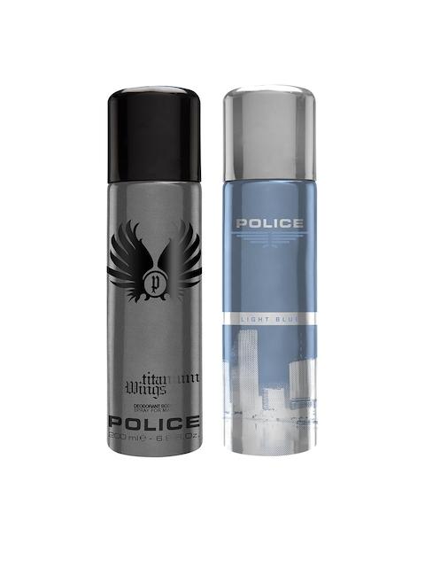 Police Men Set of 2 Deodorant Sprays