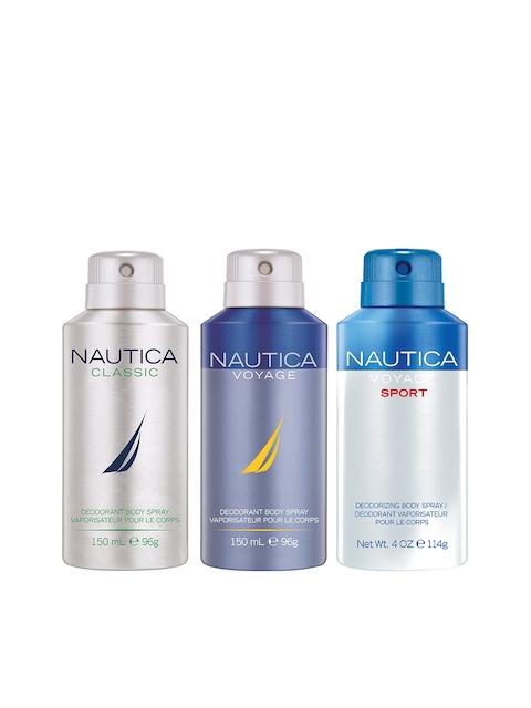 Nautica Set Of 3 Deodorants