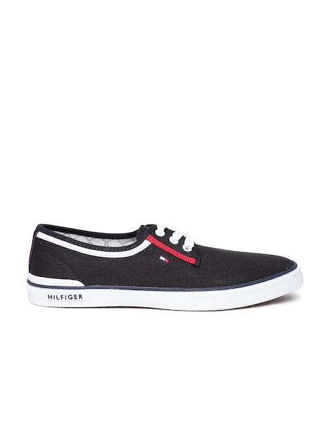 Tommy Hilfiger Men Charcoal Grey Sneakers