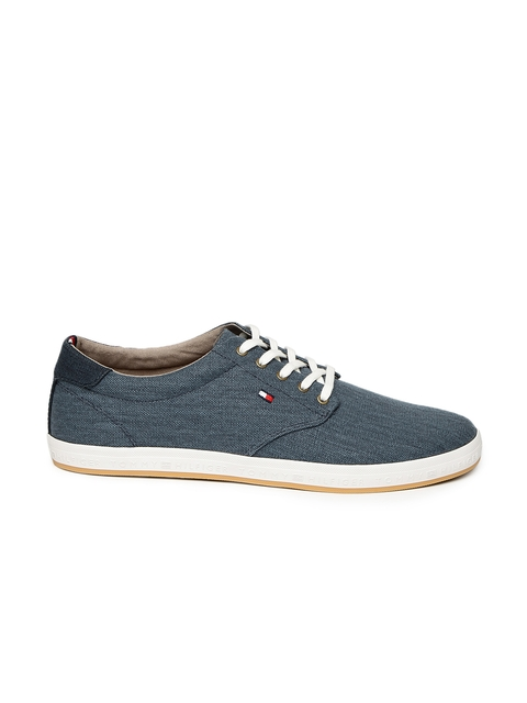 Tommy Hilfiger Men Blue Sneakers