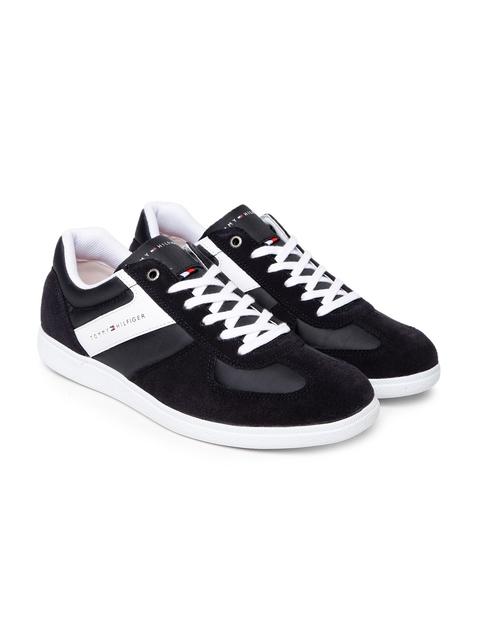 Tommy Hilfiger Men Black Sneakers