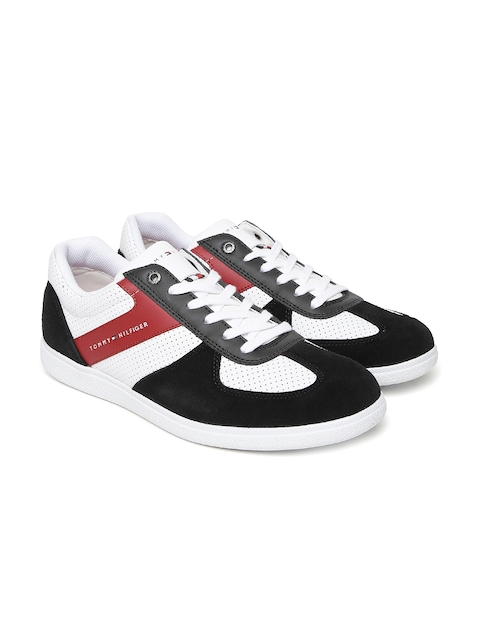 Tommy Hilfiger Men White Sneakers