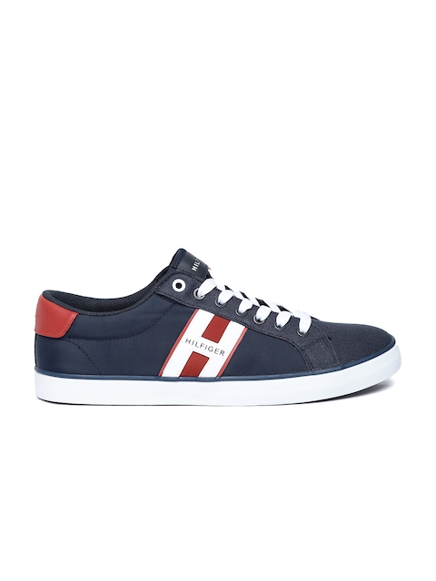 Tommy Hilfiger Men Navy Blue Sneakers