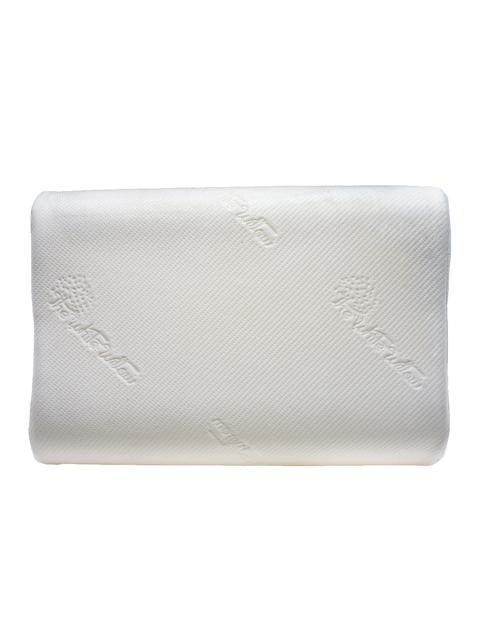 The White Willow White Single Memory Foam Contour Cervical Orthopedic Sleep Pillow