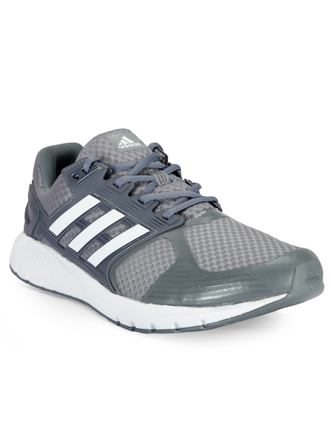 Adidas Men Grey DURAMO 8 Running Shoes  available at myntra for Rs.4199