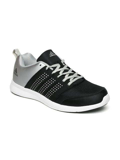 Adidas Men Black & Grey Adispree Running Shoes
