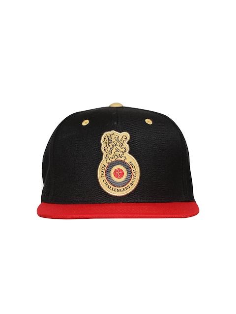 WROGN Men Black & Red RCB Cap