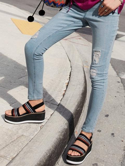 next Women Blue Skinny Fit Jeans