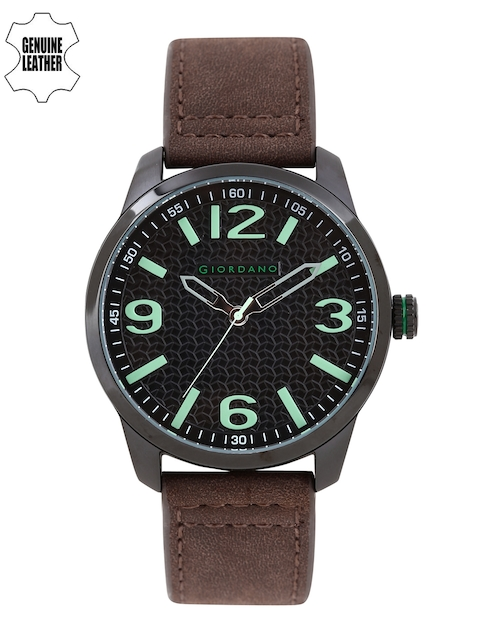 GIORDANO Men Black Analogue Watch A1049-03