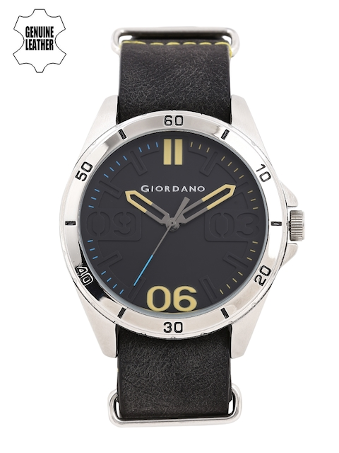 GIORDANO Men Black Analogue Watch A1050-01