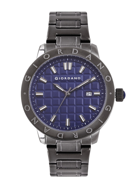 GIORDANO Men Blue Analogue Watch 1706-22