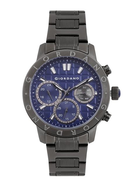 GIORDANO Men Blue Chronograph Watch 1766-22