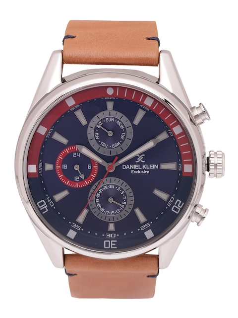 Daniel Klein Men Navy Blue Multifunction Watch DK11282-2