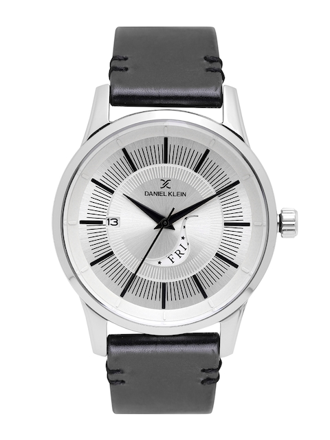 Daniel Klein Men Silver-Toned Analogue Watch DK11300-1