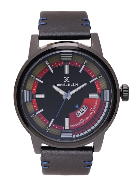 Daniel Klein Premium Men Black Analogue Watch DK11408-3