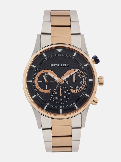 Police Men Navy Multifunction Analogue Watch PL14383JSTR03MJ